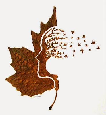 Interesantne kreativnosti od lišća!