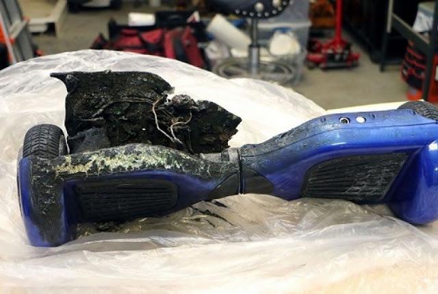 2 anak meninggal akibat hoverboards terbakar