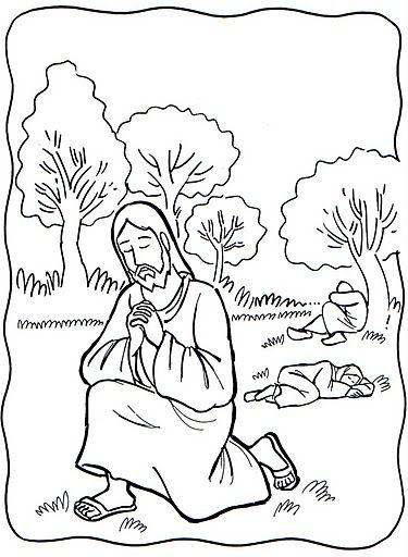 Compartiendo por amor: La oración en el Huerto