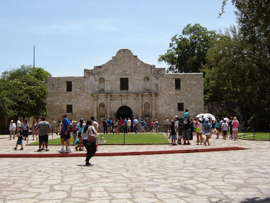 Visit the Alamo in San Antonio, Texas!