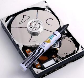 Mengenal Partisi Pada Harddisk Komputer Serta Jenis Jenisnya