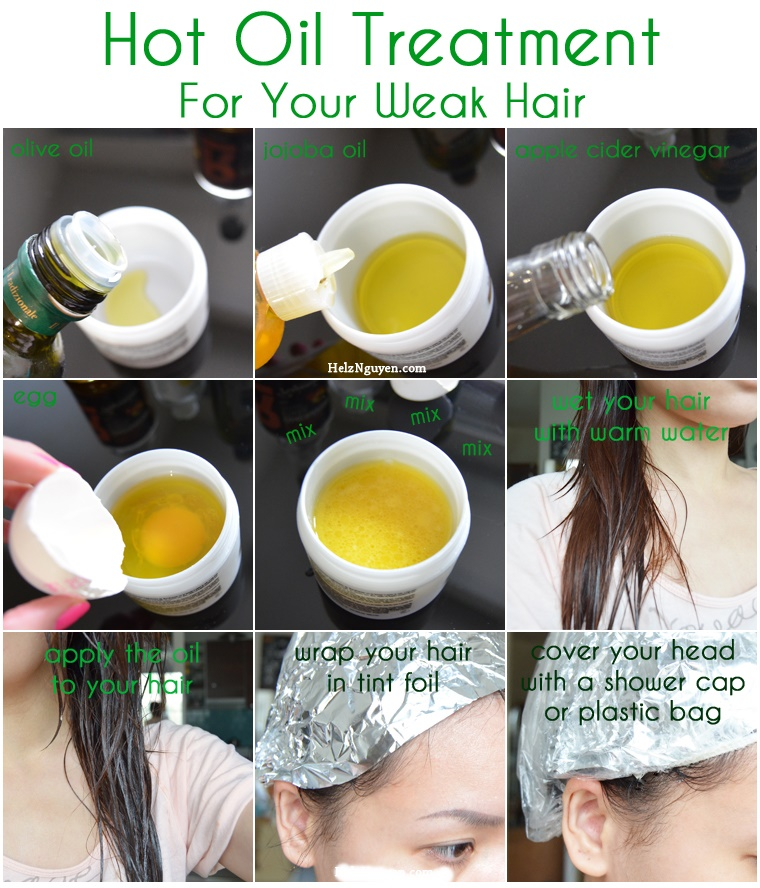 hot oil treatment for female