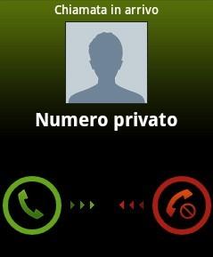nascondere proprio numero telefonico in chiamata