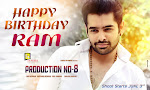 Hero Ram Birthday wishes Wallpapers