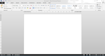 Cara Membuat dan Menyimpan Dokumen pada Microsoft Word