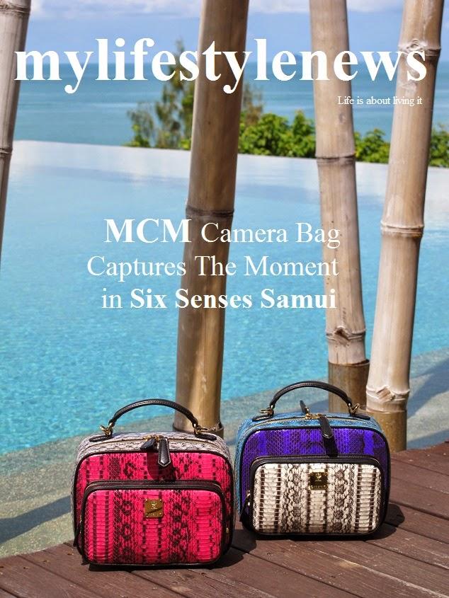 c221bd87aca7 mylifestylenews  MCM Camera Bag Captures The Moment   Six Senses Samui
