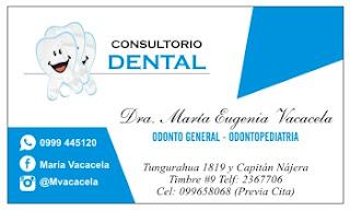Tarjetas de visita para dentistas