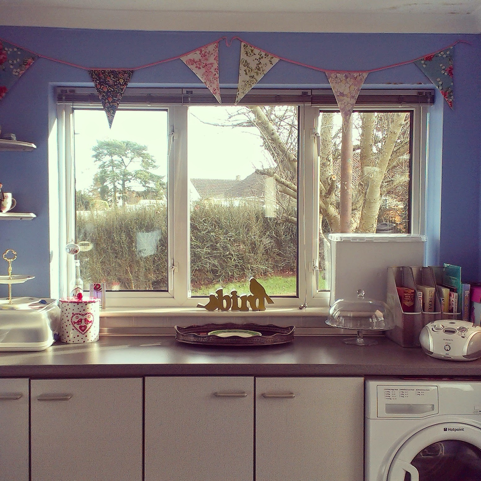 12pm - a clean kitchen