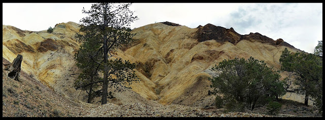 One of the 3 Yellow Mountains near Sevier, Utah