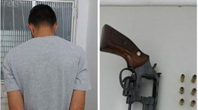 """Suspeito de matar """"Nego Fabinho"""" é preso neste domingo no Beiral, em Patos"""