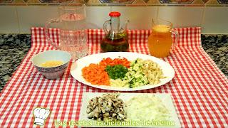 Receta fácil de sopa de verduras con pasta