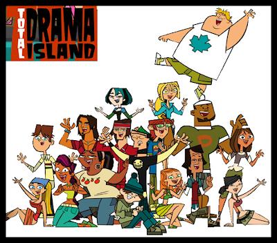 Desenho Ilha Dos Desafios Total Drama Island