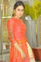 Simrat in Orange Anarkali Dress 25.JPG