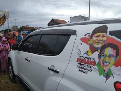 Dinilai Menyalahi Izin, Atribut Prabowo-Sandi Diturunkan di Konser Indonesia Menang
