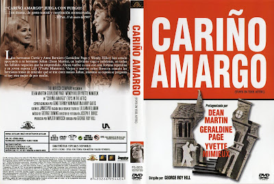Cover, dvd, carátula: Cariño amargo (Pasiones en conflicto) | 1963 | Toys in the Attic