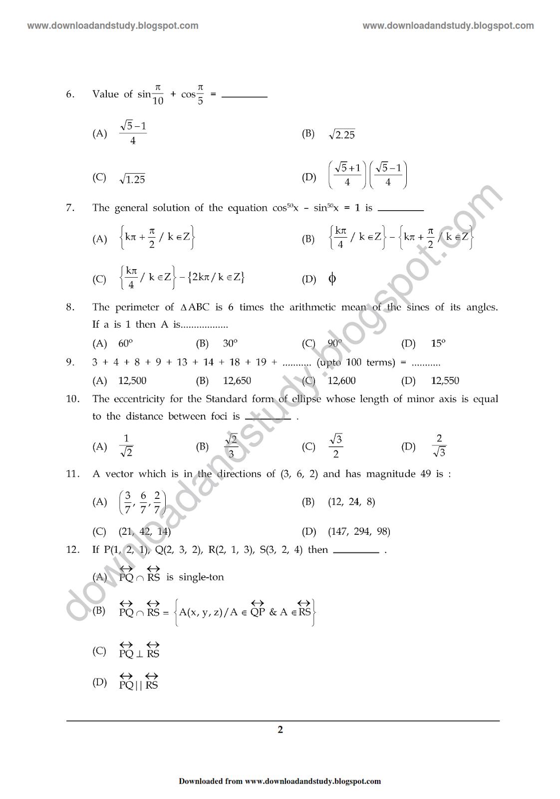 Download Amp Study Mathematics Sem