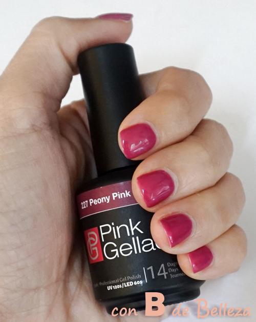 Swatch Peony pink