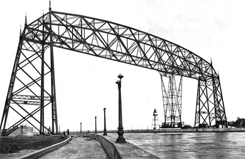 Duluth Harbor Cam Harbor History September 4 1913 Aerial Bridge