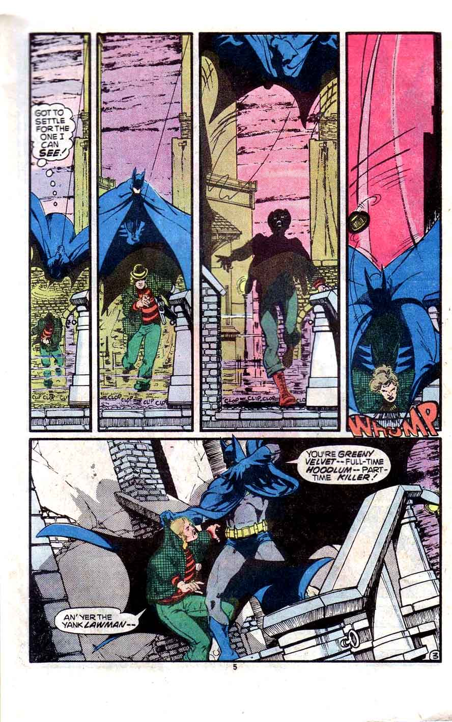 Detective Comics v1 #481 dc comic book page art by Marshall Rogers