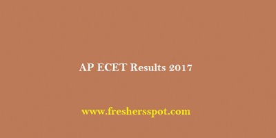 AP ECET Results 2017 Rank Cards