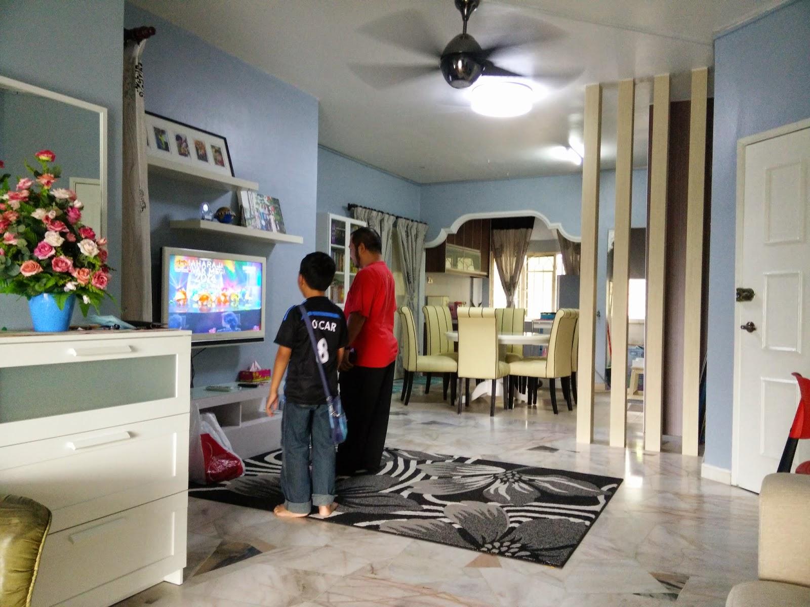 Ruang Yang Sama Selepas Renovation Divider Kayu Credit To Fudec Price Rm1400