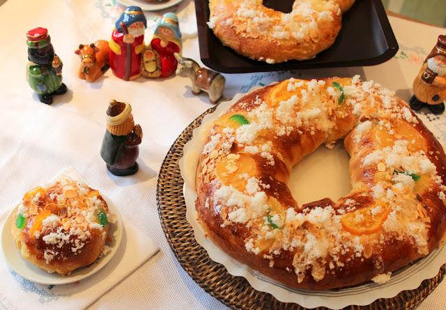 Roscón de Reyes Magos - Bolo Rei