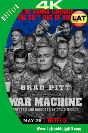 War Machine (2017) Latino Ultra HD 4K WEB-DL 2160P ()