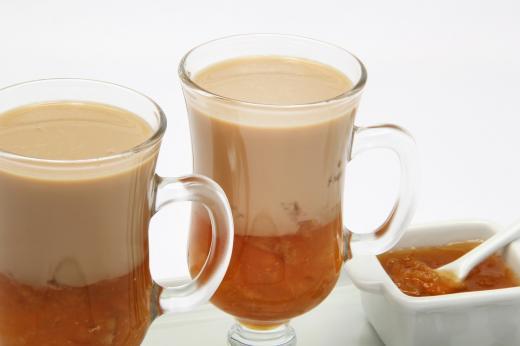 Milk shake de Café e Geleia de Laranja