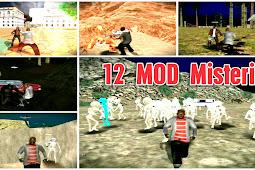 12 MOD MISTERI GTA SA ANDROID