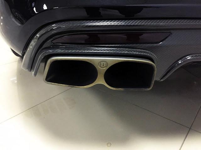 w222 brabus exhaust