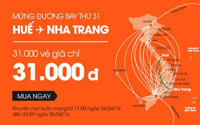 Khuyến mãi lớn của Jetstar mừng đường bay mới Huế - Nha Trang