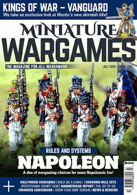 Miniature Wargames 423, July 2018