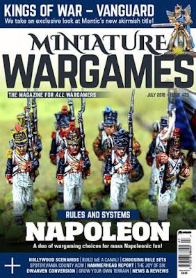 Miniature Wargames 423, July 2018