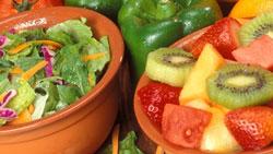 sayur, buah, gigi putih