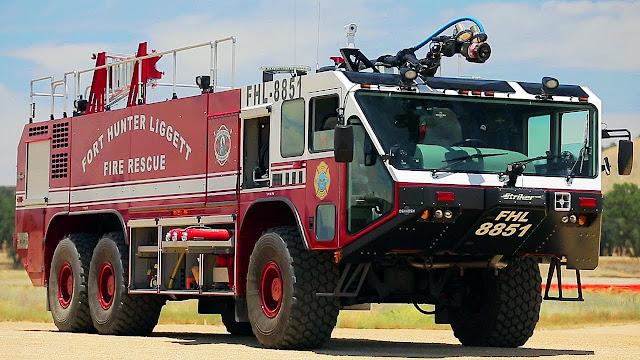 Foto Mobil Pemadam Kebakaran Tercanggih 04