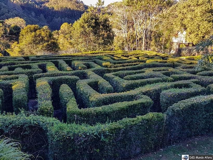 Labirinto no Parque Amantikir: os jardins que falam em Campos do Jordão