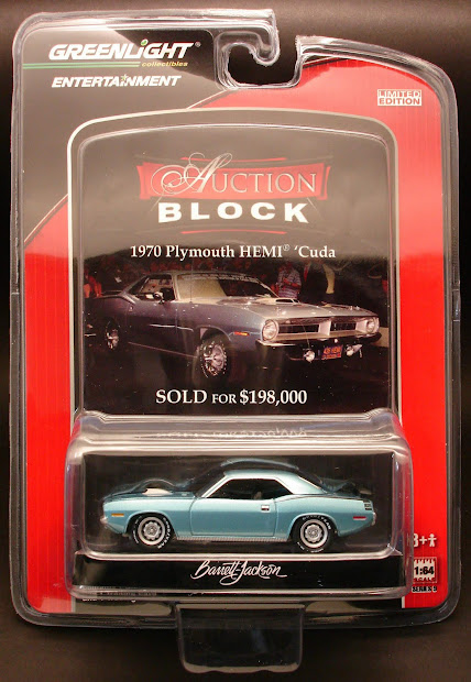 Diecast Hobbist Greenlight Auction Block Series 9