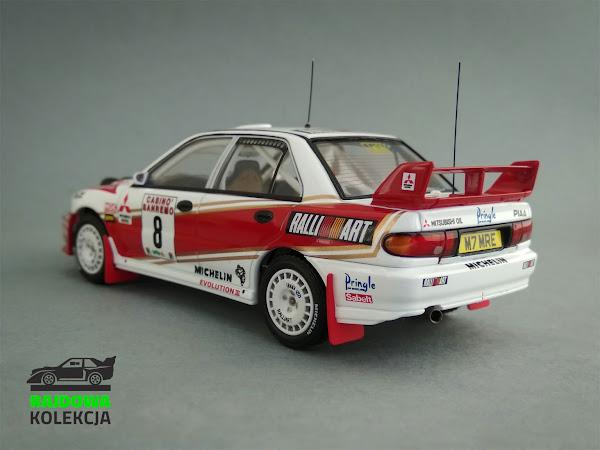 HPI Racing Mitsubishi Lancer EVO III, Rajd Sanremo 1996