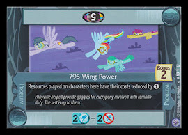My Little Pony 795 Wing Power Premiere CCG Card