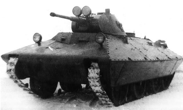 "Легкий танк БТ СВ-2 ""Черепаха"""