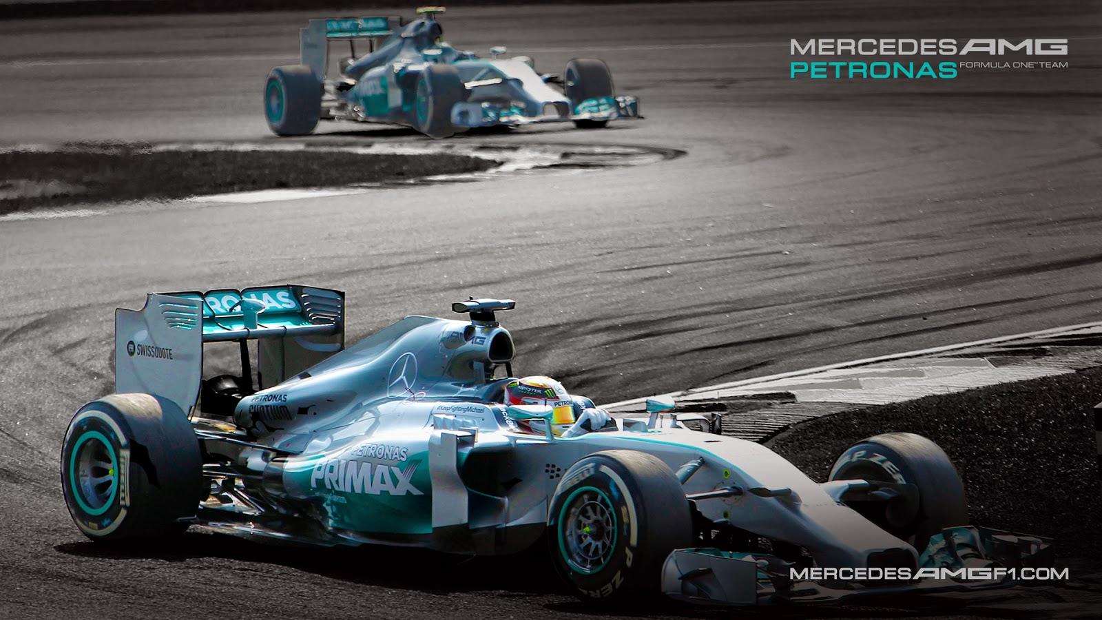 Mercedes w08 f1 wallpaper 11