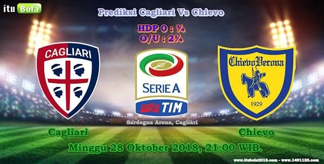 Prediksi Cagliari Vs Chievo - ituBola