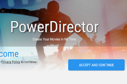 PowerDirector pro mod terbaru Video Editor App 4K, Slow Mo & More v5.0.0.apk