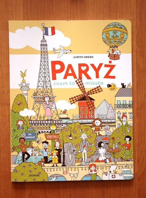 """Recenzje #48 - """"Paryż znam to miasto"""" - okładka książki Judith Drews pt.""""Paryż znam to miasto"""" - Francuski przy kawie"""