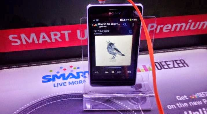 Deezer Music Streaming Service Now Available Through Smart Postpaid
