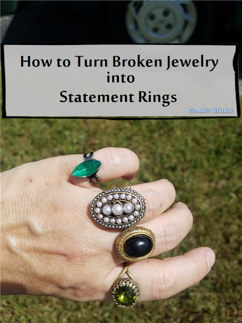how to make statement rings