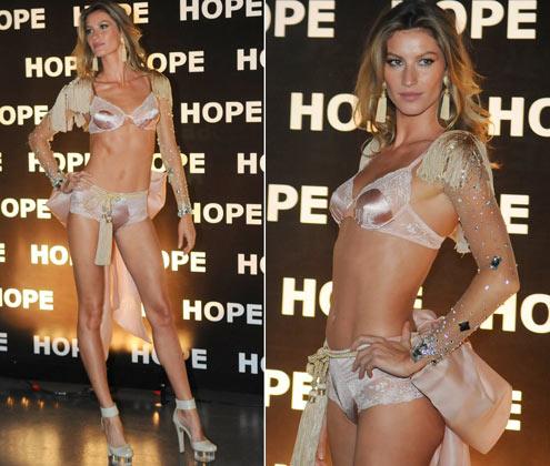 667f16203 Novos lingeries lançadas por Gisele Bündchen