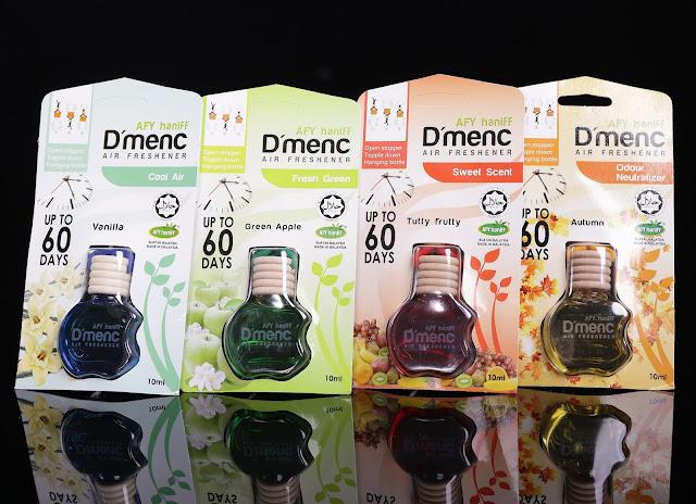 Rangkaian wnagian D'menC Air Freshener