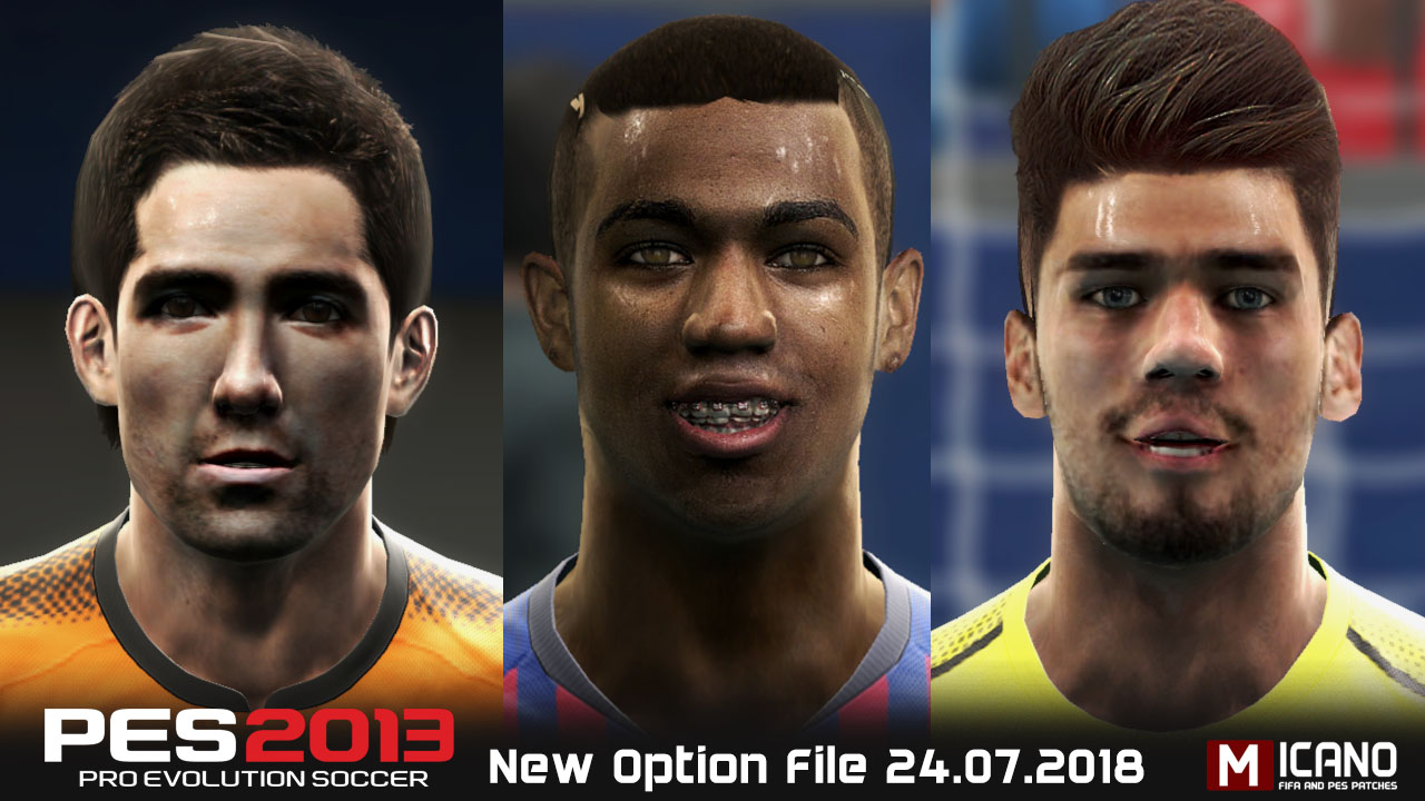 PES Update: PES 2013 Next Season Patch 2019 Option File 12/08/2018