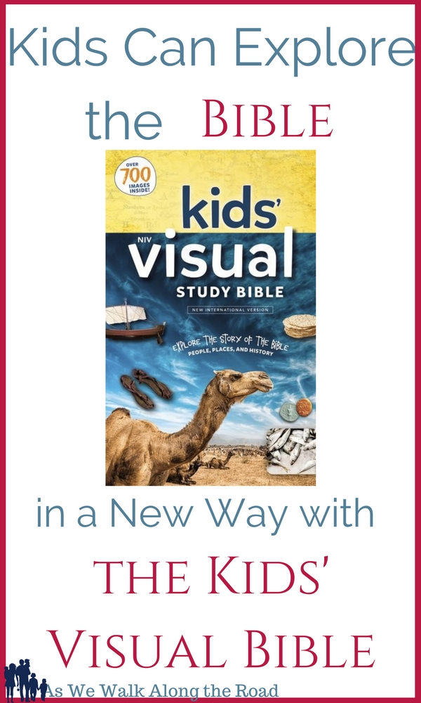 Review of the Kids' Visual Bible from Zondervan